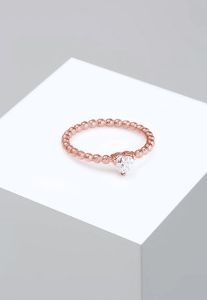 HERZ - Ring - rose gold-coloured
