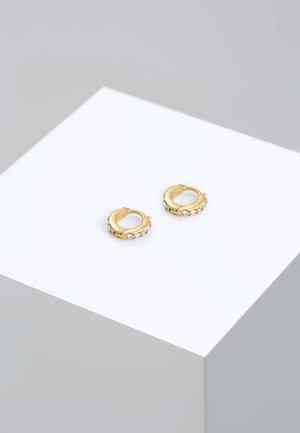 CREOLEN MINIMAL - Øreringe - gold-coloured