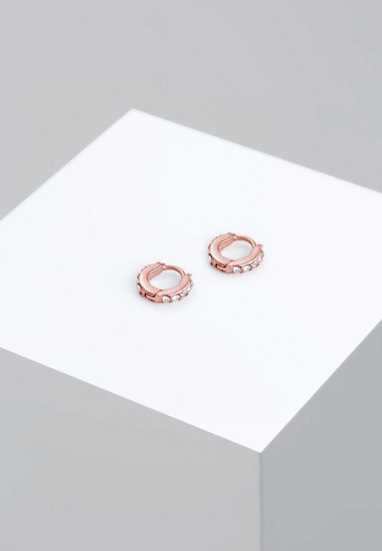 Elli - CREOLEN MINIMAL - Boucles d'oreilles - rose gold-coloured