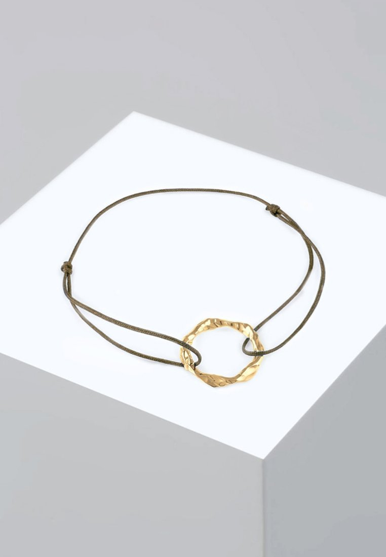 Gold Geo Elli Kries DesignBracelet coloured CdeBox
