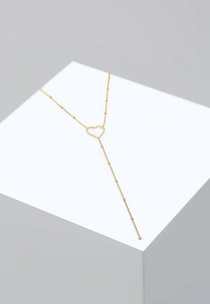 HERZ - Collier - gold-coloured