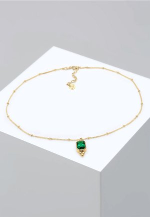 CHOKER  - Collier - gold-colored/green
