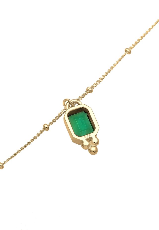 CHOKER  - Halsband - gold-colored/green