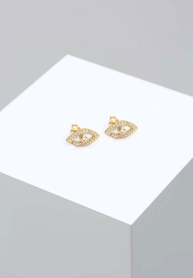 EVIL EYE - Earrings - gold-coloured