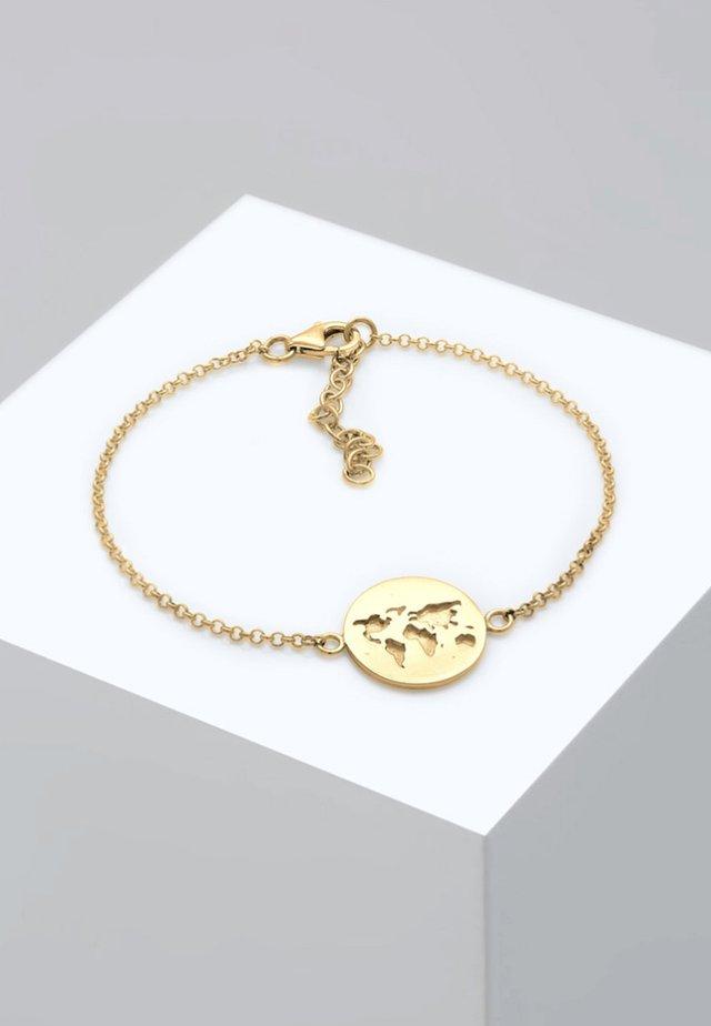 WELTKUGEL  - Bracelet - gold-coloured