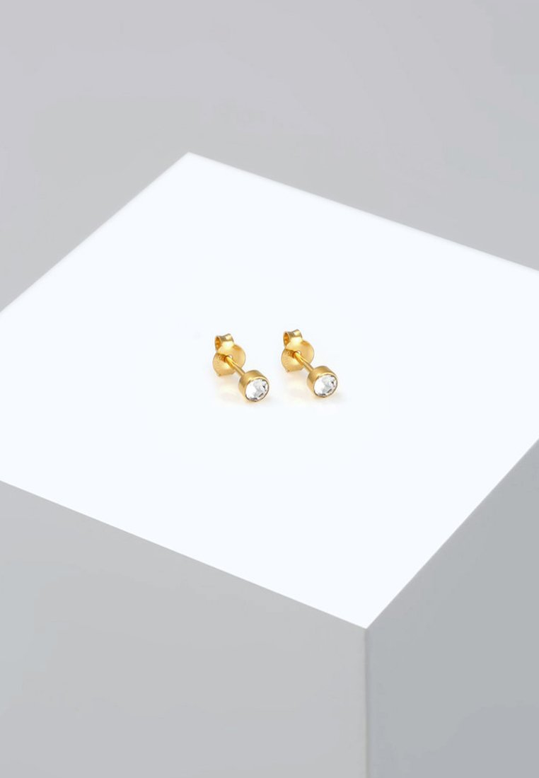 Elli D'oreilles BasicBoucles Gold coloured Elli BasicBoucles Gold Elli coloured D'oreilles vw0N8nm