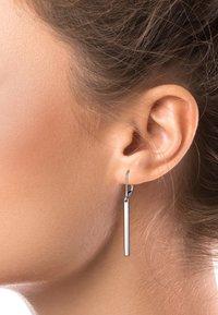 Elli - GEO LOOK BASIC - Earrings - silver-coloured - 1