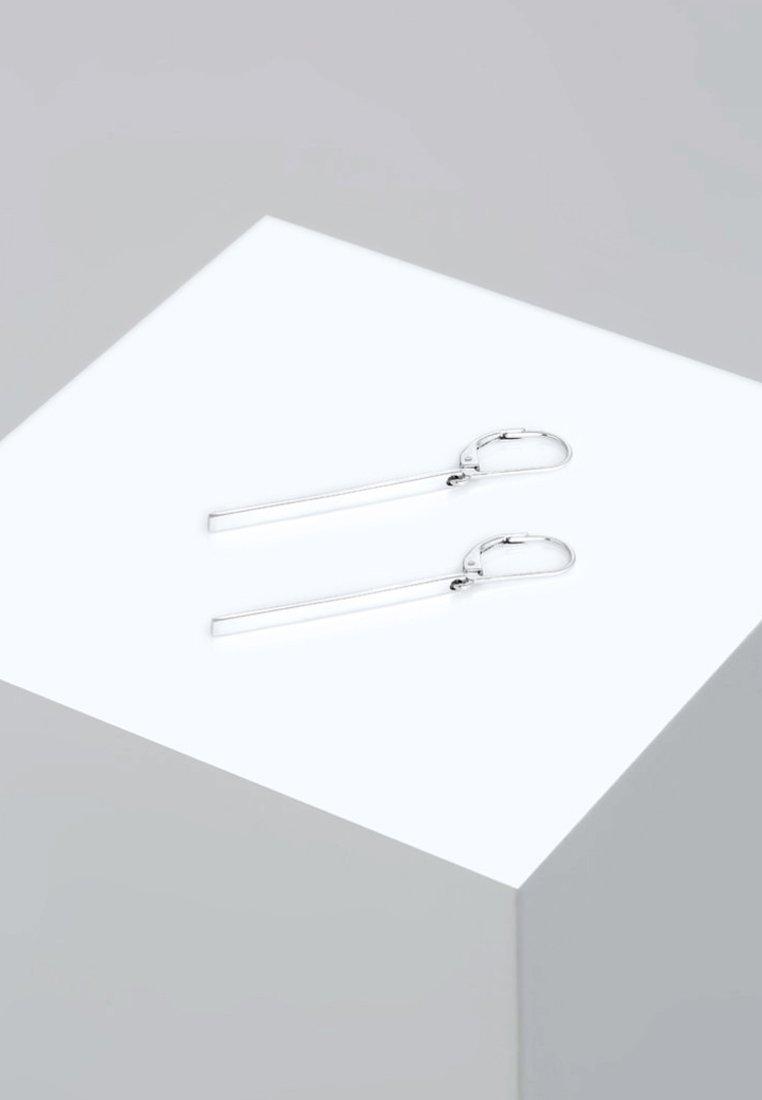 Elli - GEO LOOK BASIC - Earrings - silver-coloured