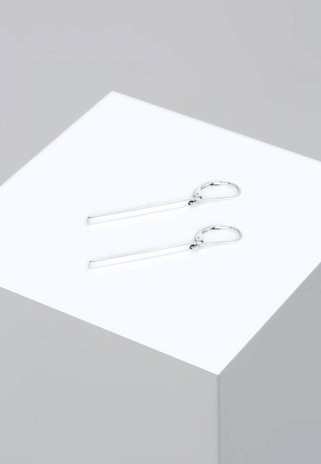 GEO LOOK BASIC - Ohrringe - silber