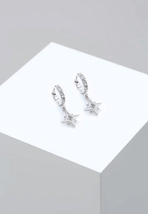 ASTRO STAR - Orecchini - silver-coloured