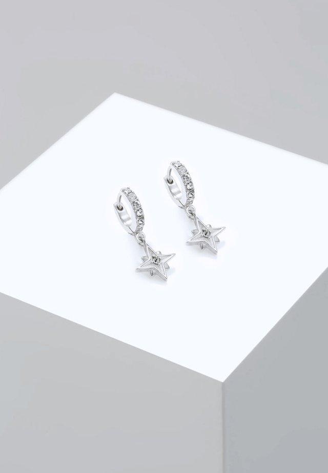 ASTRO STAR - Örhänge - silver-coloured