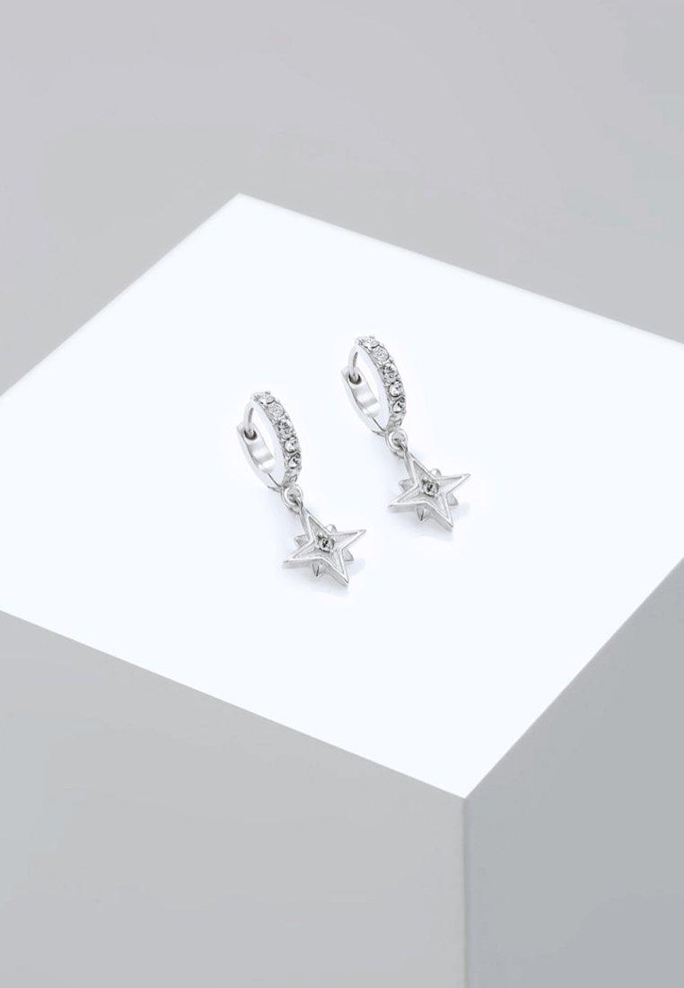 Elli - ASTRO STAR - Ohrringe - silver-coloured