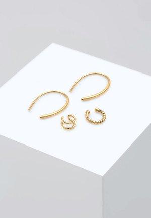 SET BASIC BLOGGER - Earrings - gold-coloured