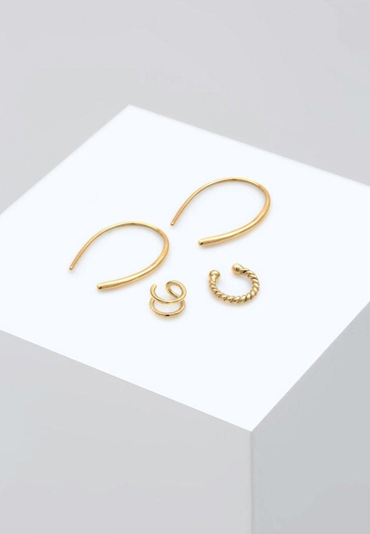 Elli - SET BASIC BLOGGER - Earrings - gold-coloured