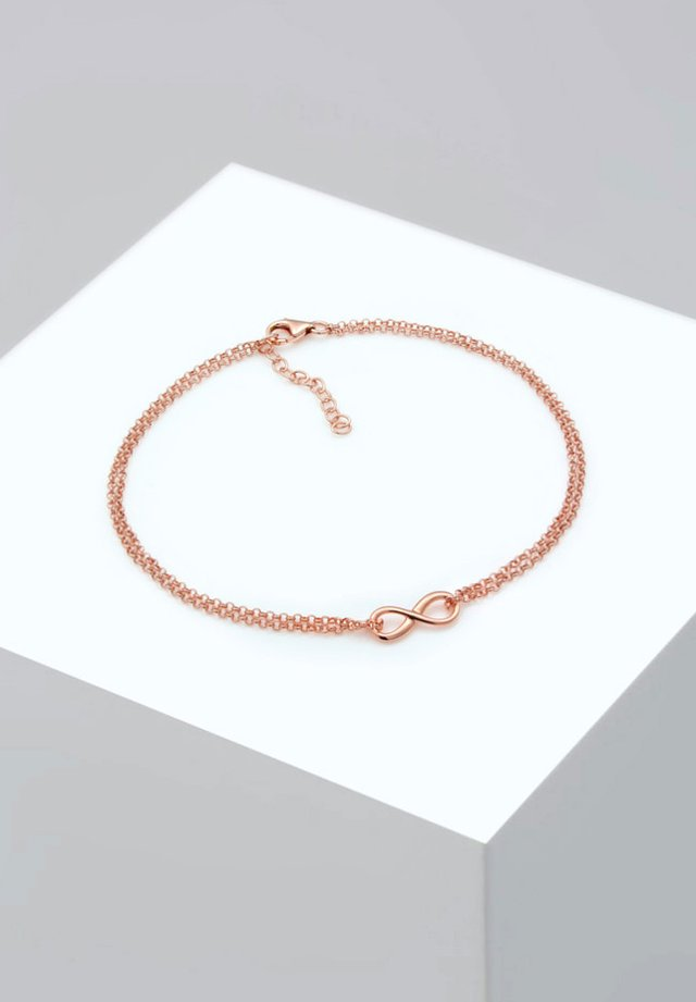 INFINITY SYMBOL ZEICHEN - Armband - rose gold-coloured