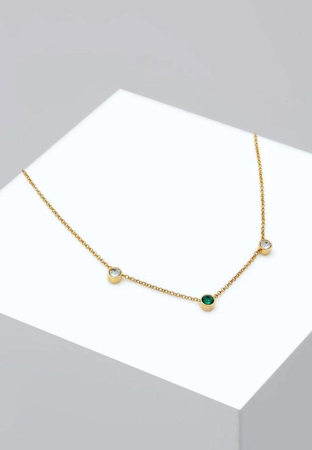 SOLITÄR - Halsband - gold-coloured