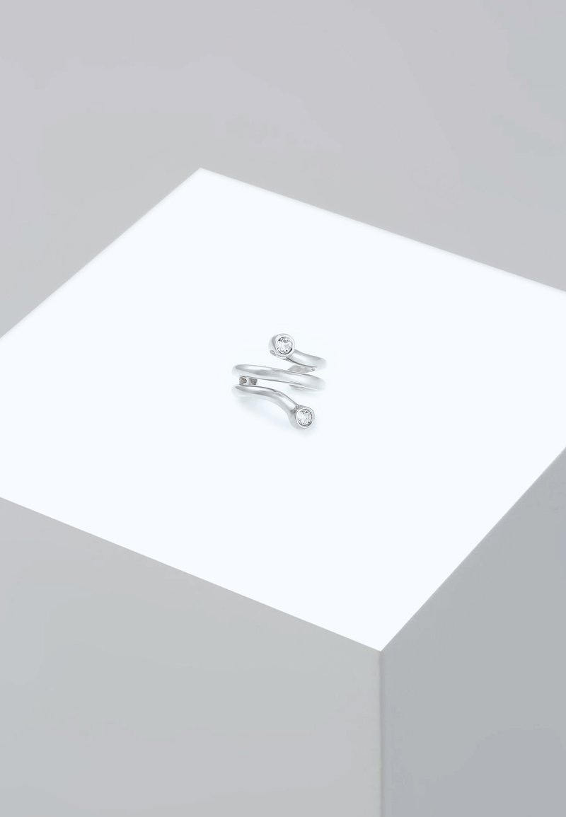 Elli - SWAROVSKI - Earrings - silver-coloured