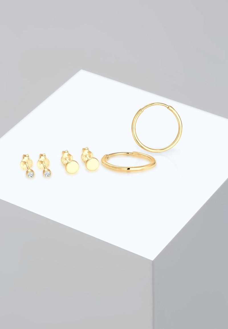 Elli - 3 PACK - Earrings - gold-coloured
