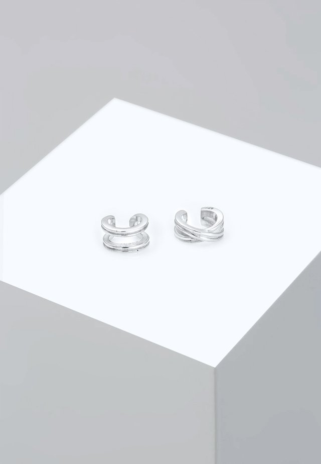 EARCUFF SET - Orecchini - silver-coloured