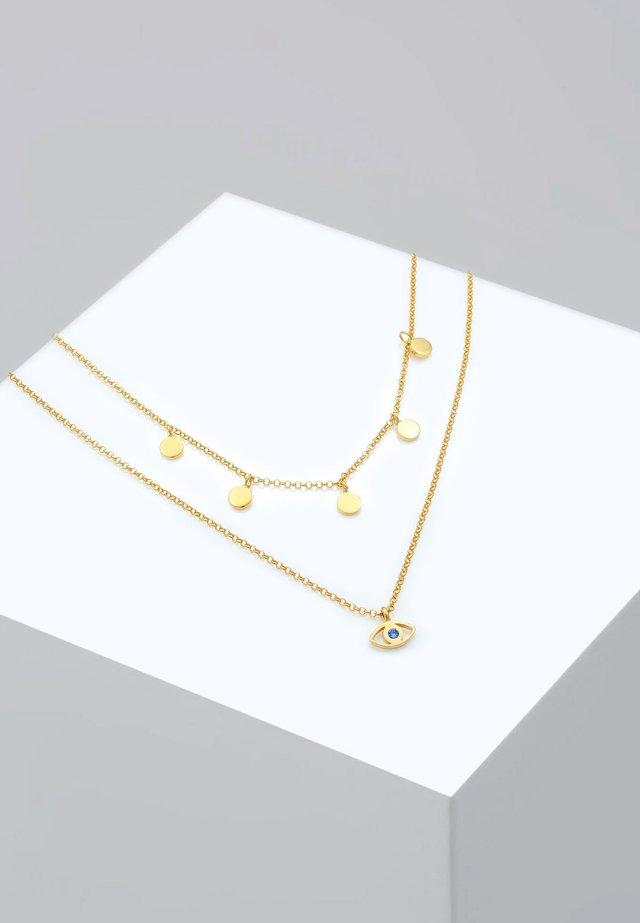 EVIL EYE  - Halsband - gold-coloured