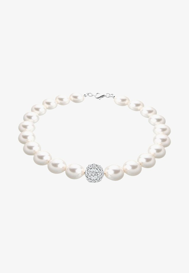 PERLEN  - Armband - white-coloured