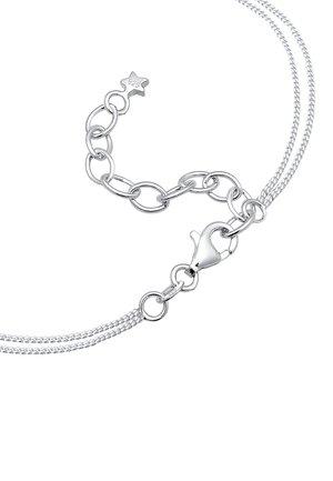 LAYER CHOKER ASTRO HALBMOND STERNE  - Necklace - silber