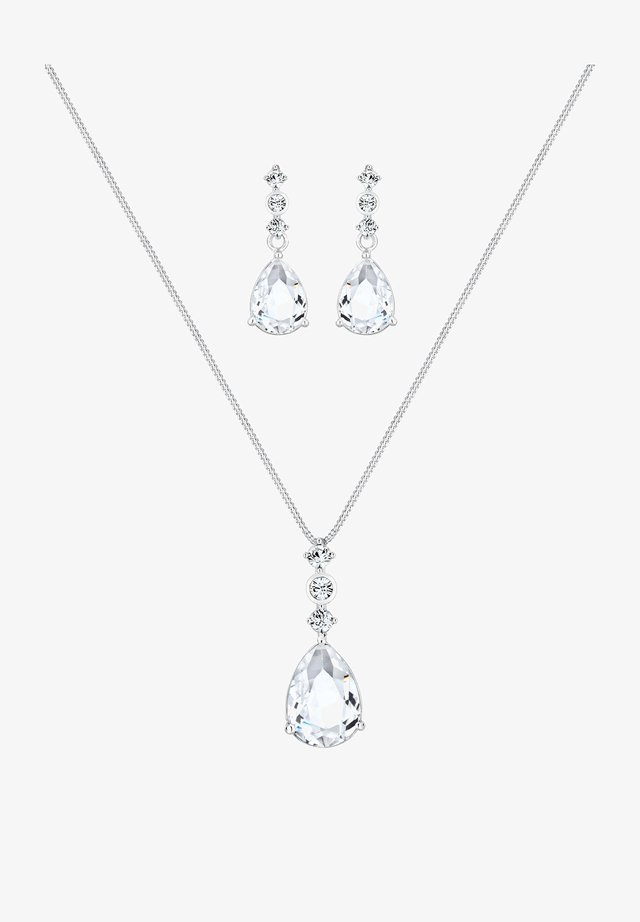 SET PACK - Earrings - silver-coloured