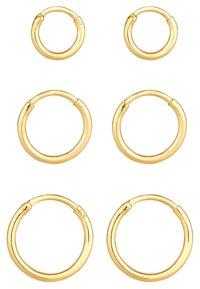 Elli - 3 PACK - Øreringe - gold-coloured - 5