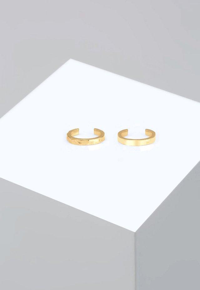 EARCUFF SET  - Øreringe - gold-coloured
