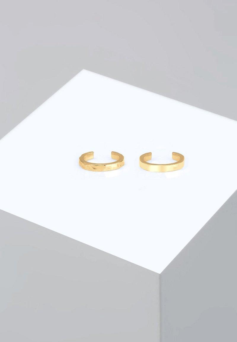 Elli - EARCUFF SET  - Earrings - gold-coloured
