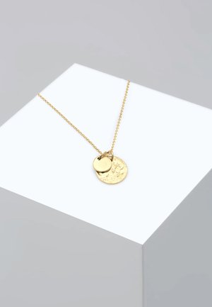 PLÄTTCHEN GEO - Ketting - gold-coloured