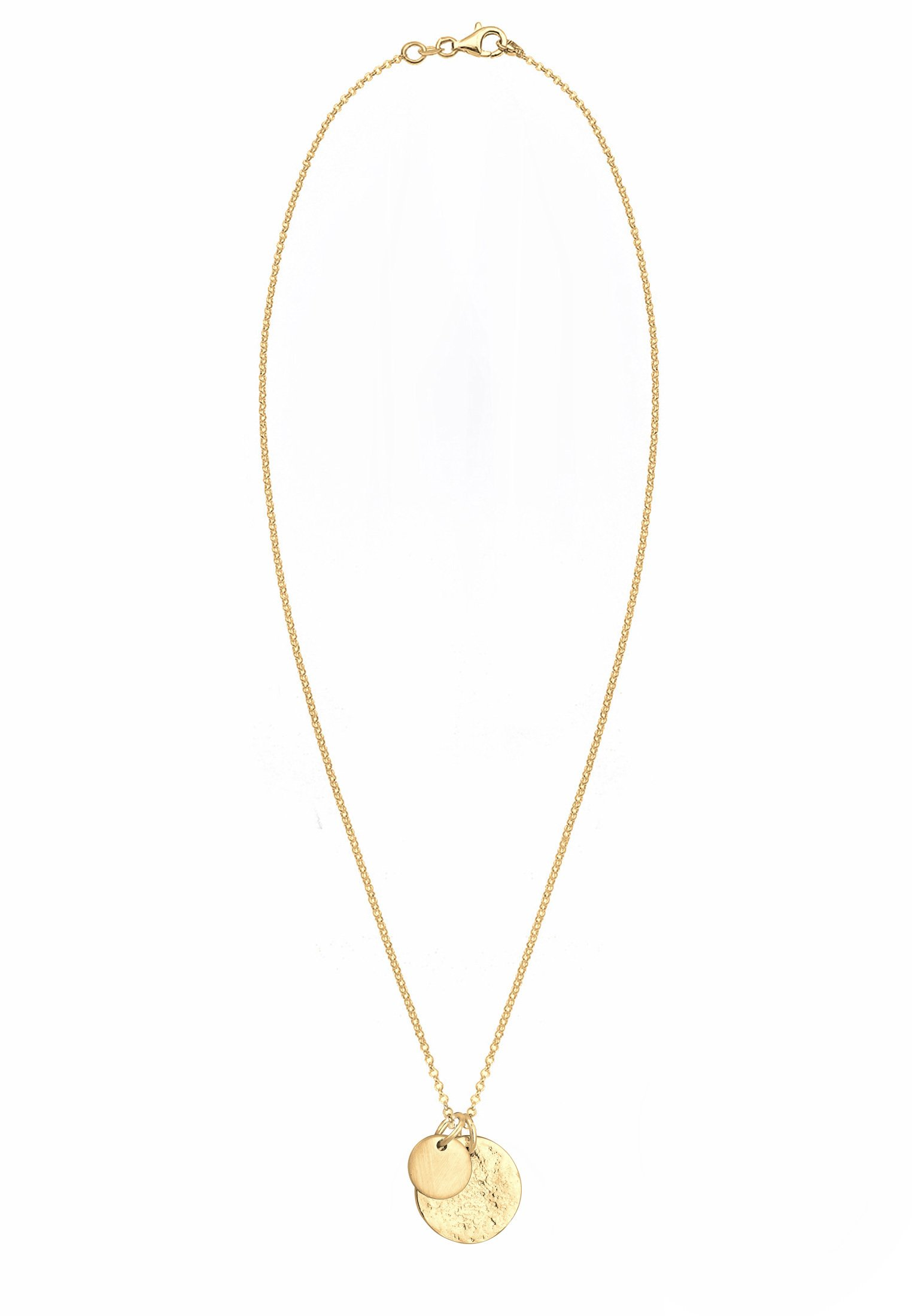 Elli PLÄTTCHEN GEO - Halsband - gold-coloured