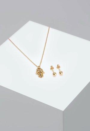 SET - Kolczyki - gold-coloured