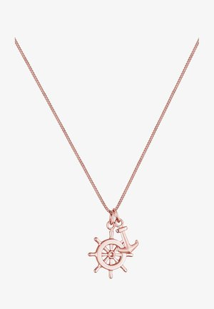 STEUERRAD ANKER  - Halsband - rose gold-coloured