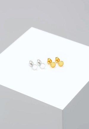 SET  - Øreringe - gold-coloured