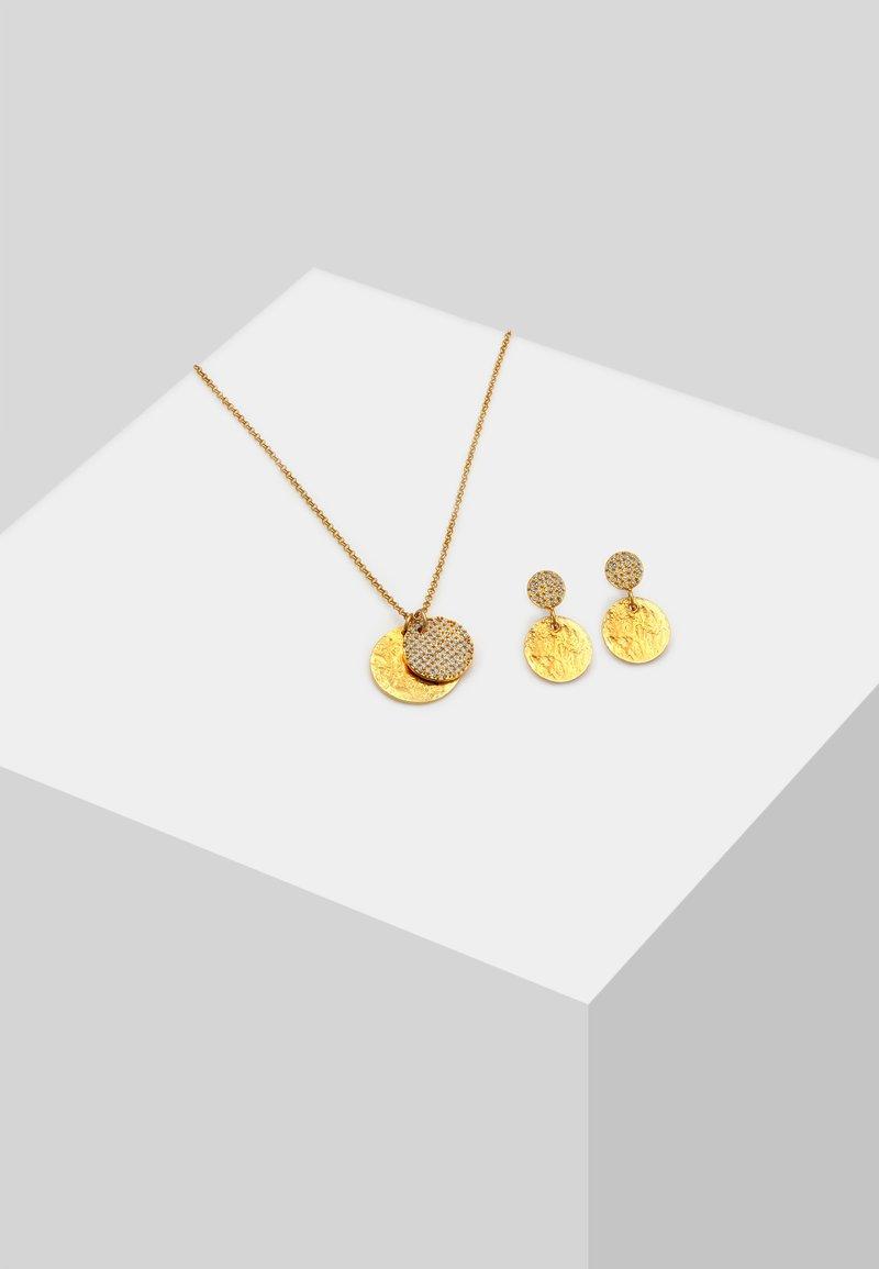 Elli - SET - Ohrringe - gold-coloured