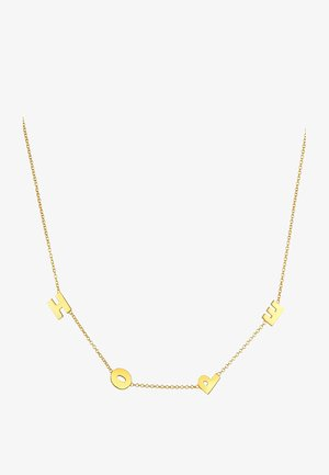 HOPE WORDING TREND - Ketting - gold-coloured