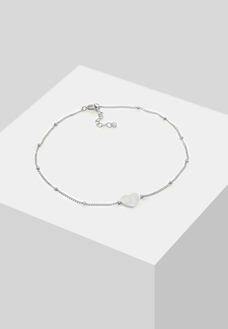Elli - FUSSSCHMUCK HERZCHEN - Armband - silver-coloured