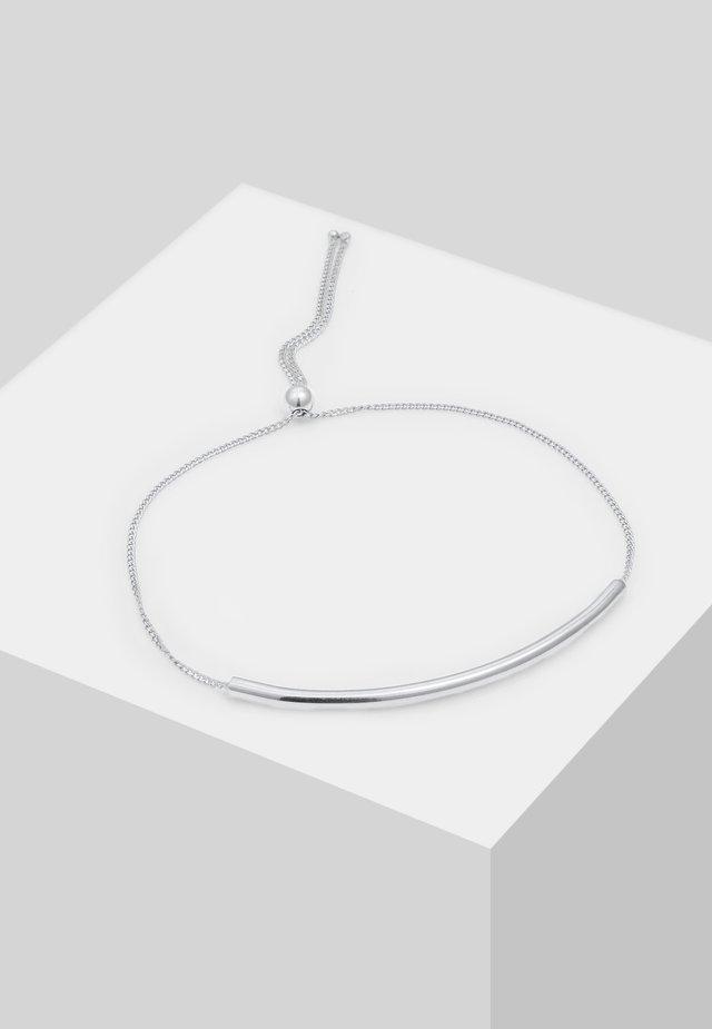 MINIMAL DESIGN VERSTELLBAR - Bransoletka - silver-coloured