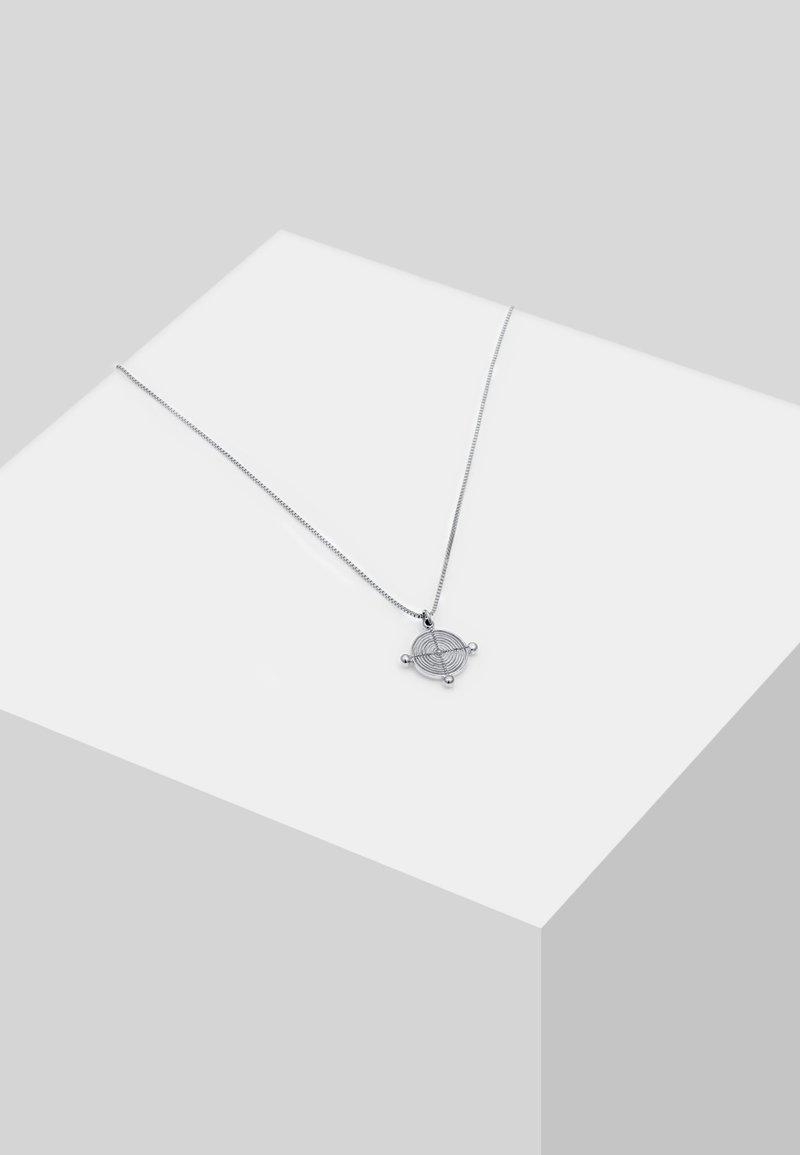 Elli - VENIZIANERKETTE PLÄTTCHEN VINTAGE - Halskæder - silver-coloured