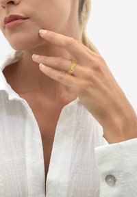 Elli - GINGKO BLATT TROPIC  - Ring - gold-coloured - 1