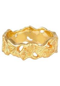 Elli - GINGKO BLATT TROPIC  - Ring - gold-coloured - 3