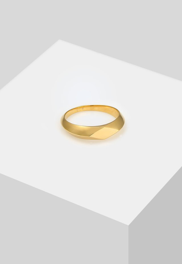 RAUTE  - Ring - gold-coloured