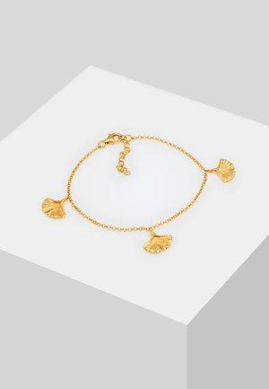 GINKGO BLATT SYMBOL - Bracciale - gold-coloured
