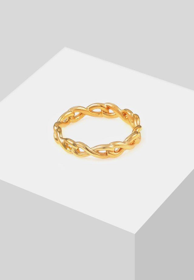 INFINITY VERTRAUEN  - Bague - gold-coloured
