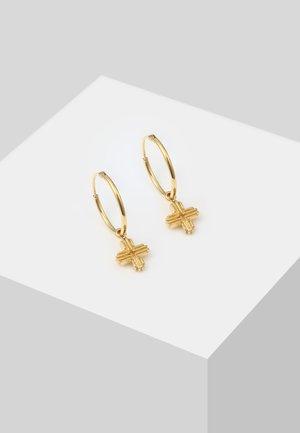 SYMBOL BLOGGER - Boucles d'oreilles - gold-coloured