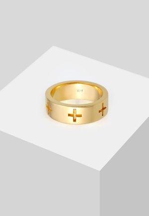 KREUZ CUT OUT  - Ring - gold-coloured