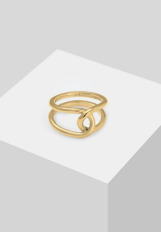 KNOTEN  - Sormus - gold-coloured