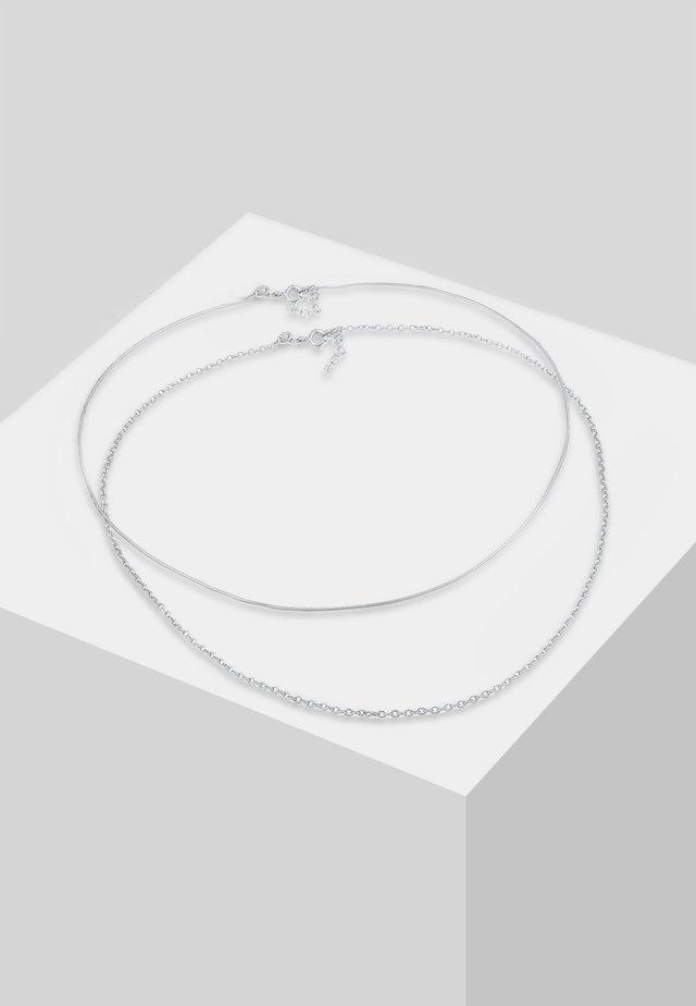 SET - Halsband - silver-coloured