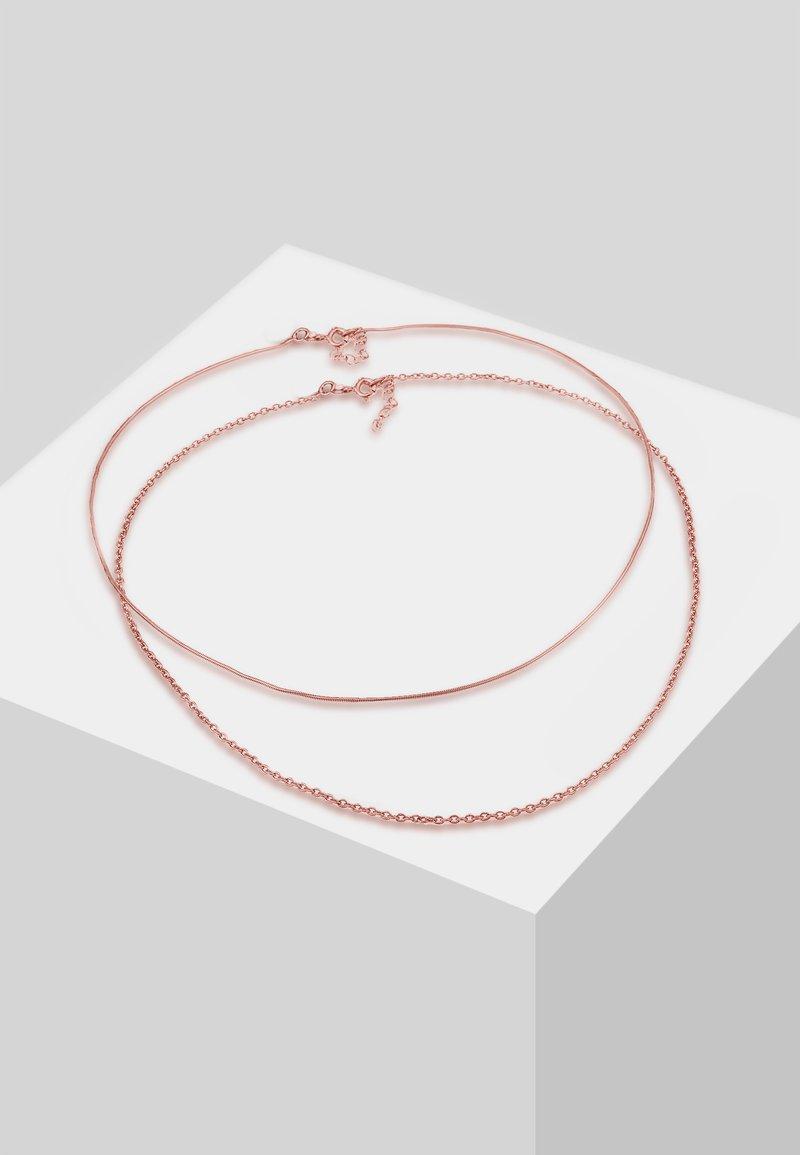 Elli - SET - Collier - rose gold-coloured